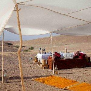 Maroc, bivouac et spa Tente O 3