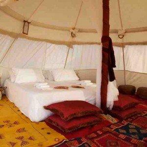 Maroc, bivouac et spa Tente O 5