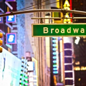 NEW YORK CITY BROADWAY  Copyright Stuart Monk