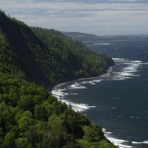 Littoral gaspésien © Le Québec maritime-Michel Laverdière