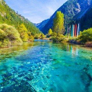 CHINE sichuan jiuzhaigou Copyright Luxizeng
