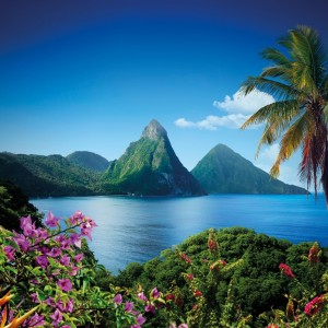 Ste Lucie_two pitons ©St. Lucia Tourist Board
