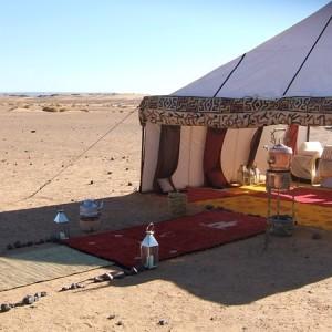 Maroc, bivouac et spa Tente O 1