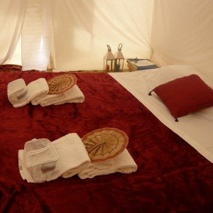 Maroc, bivouac et spa Tente O 14