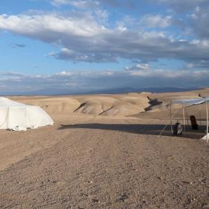 Maroc, bivouac et spa Tente O 16