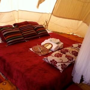 Maroc, bivouac et spa Tente O 17