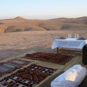Maroc, bivouac et spa Tente O 18