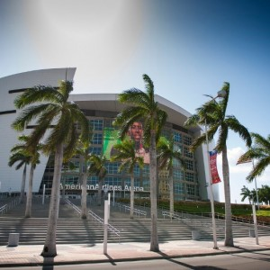 Downtown-Miami-American-Airlines-Arena-Entrance-exterior-Wide