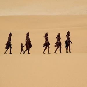 Himba family