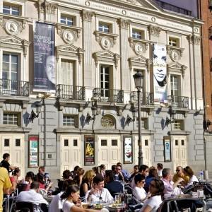 Madrid. Plaza de Santa Ana – Teatro Español
