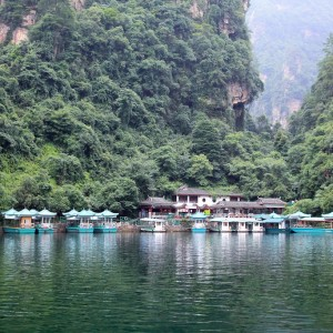 CHINE-  BaoFeng Lake in ZhangJiaJie a national park –  Copyright  gary718