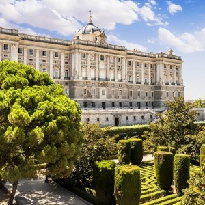 MADRID ESPAGNE – Palais Royal ( Copyright  Marques )
