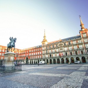 MADRID ESPAGNE Plaza Mayor  ( Copyright  Farbregas )