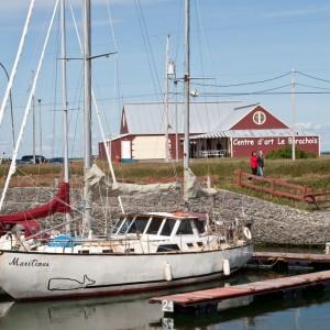 Marina de Matane et centre d'art le Barachois © Le Québec maritime-Jean-Pierre Huard