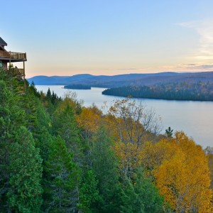 QUEBEC LAC SACACOMIE MAURICIE Copyright  Richard Cavalleri