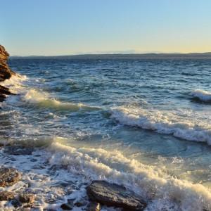 Vue sur la mer-parc national du Canada Forillon© Le Québec maritime-Marc Loiselle