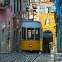 En tramway, Lisbonne!