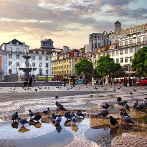 Portugal Lisbonne – Rossio Square ©Carlos Caetano