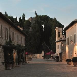 Borgo avenue at Castiglion del Bosco