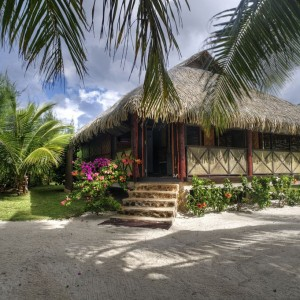 Pension Fare Pea Iti BEACH BUNGALOW PLAGE 1
