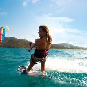 Ste Lucie_Kite-surfing ©St. Lucia Tourist Board