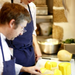 Bastide de Moustiers – cuisine Chef et sa brigade (c) David Bordes